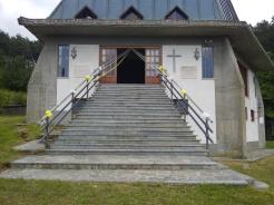 L'esterno del Santuario