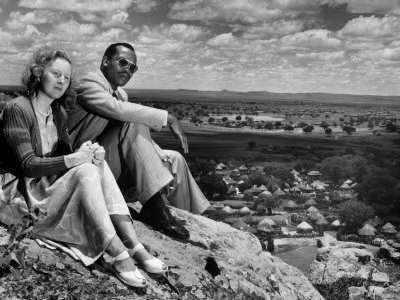 khama-with-wife-ruth-tribal-capital-of-bechuanaland