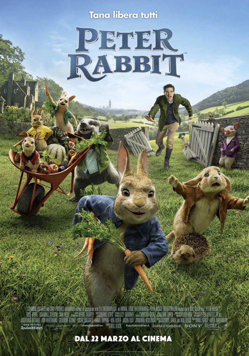 """Segnalazione del Film """"Peter Rabbit"""""""