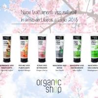 Nuovi trattamenti viso naturali di ORGANIC SHOP