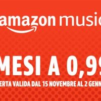 Amazon Music | 4 Mesi a 0,99€