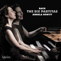 Bach: The Six Partitas by Angela Hewitt